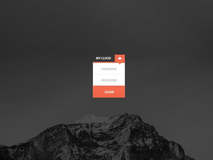 Mini Login HTML/CSS