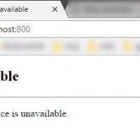 HTTP 503 Service Unavailable hatası